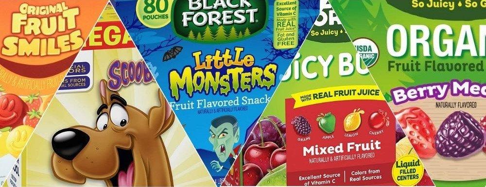 Fruit snaks mix