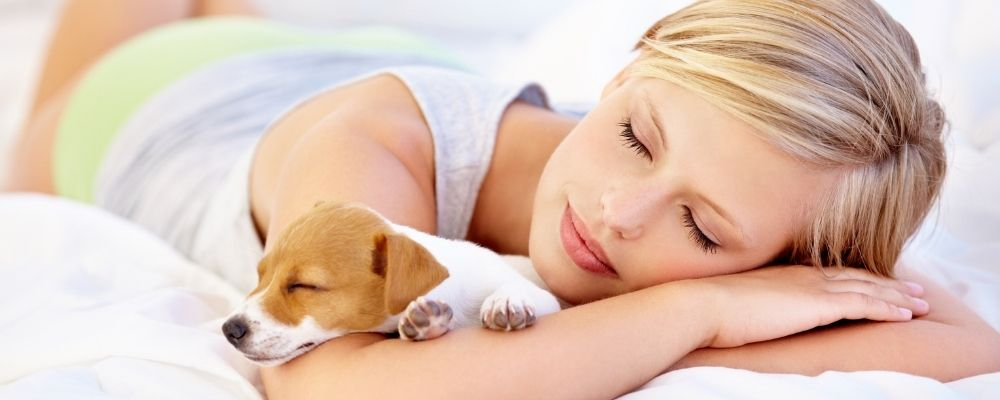 Where should your puppy sleep